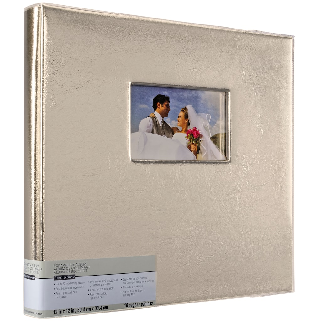 Shop For The Gold Scrapbook Album By Recollections At Michaels