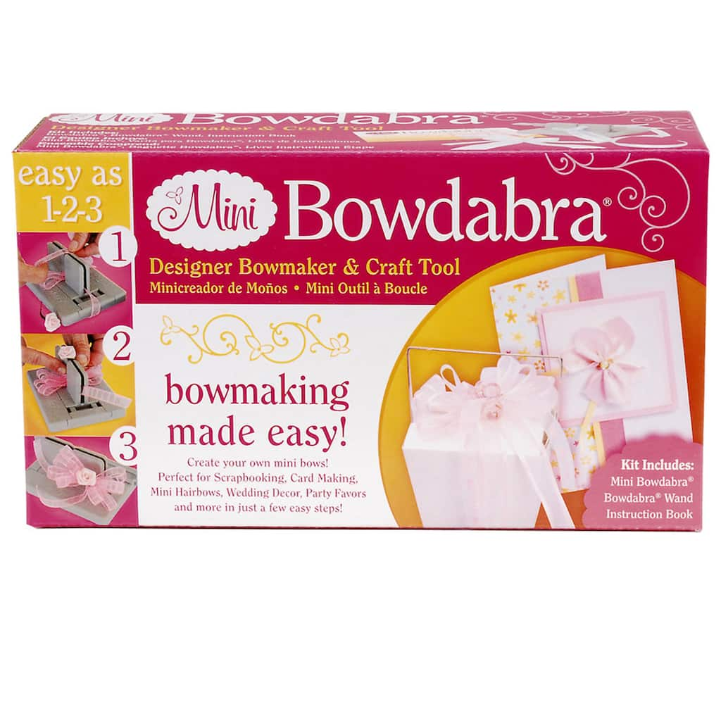 Mini Bowdabra Designer Bowmaker & Craft Tool