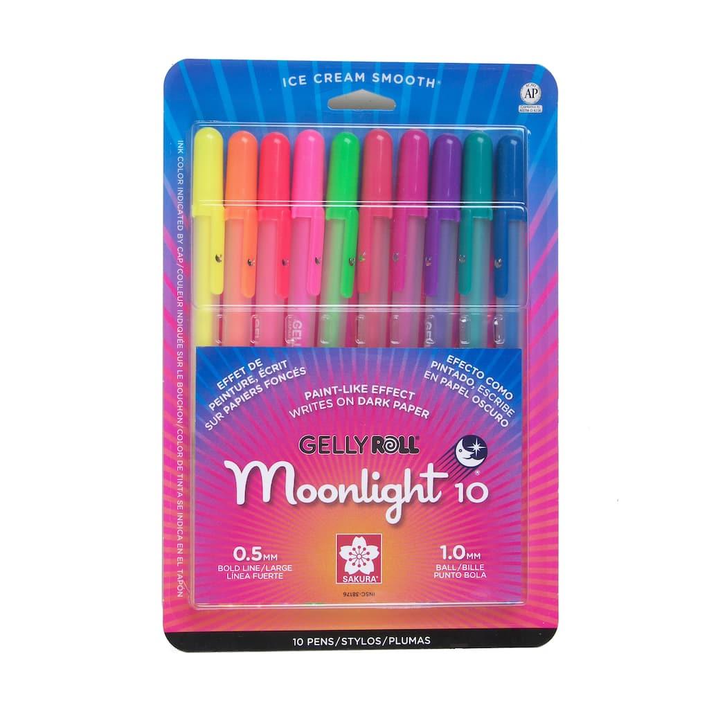 Sakura® of America Gelly Roll Moonlight® Pens, 10 Pack