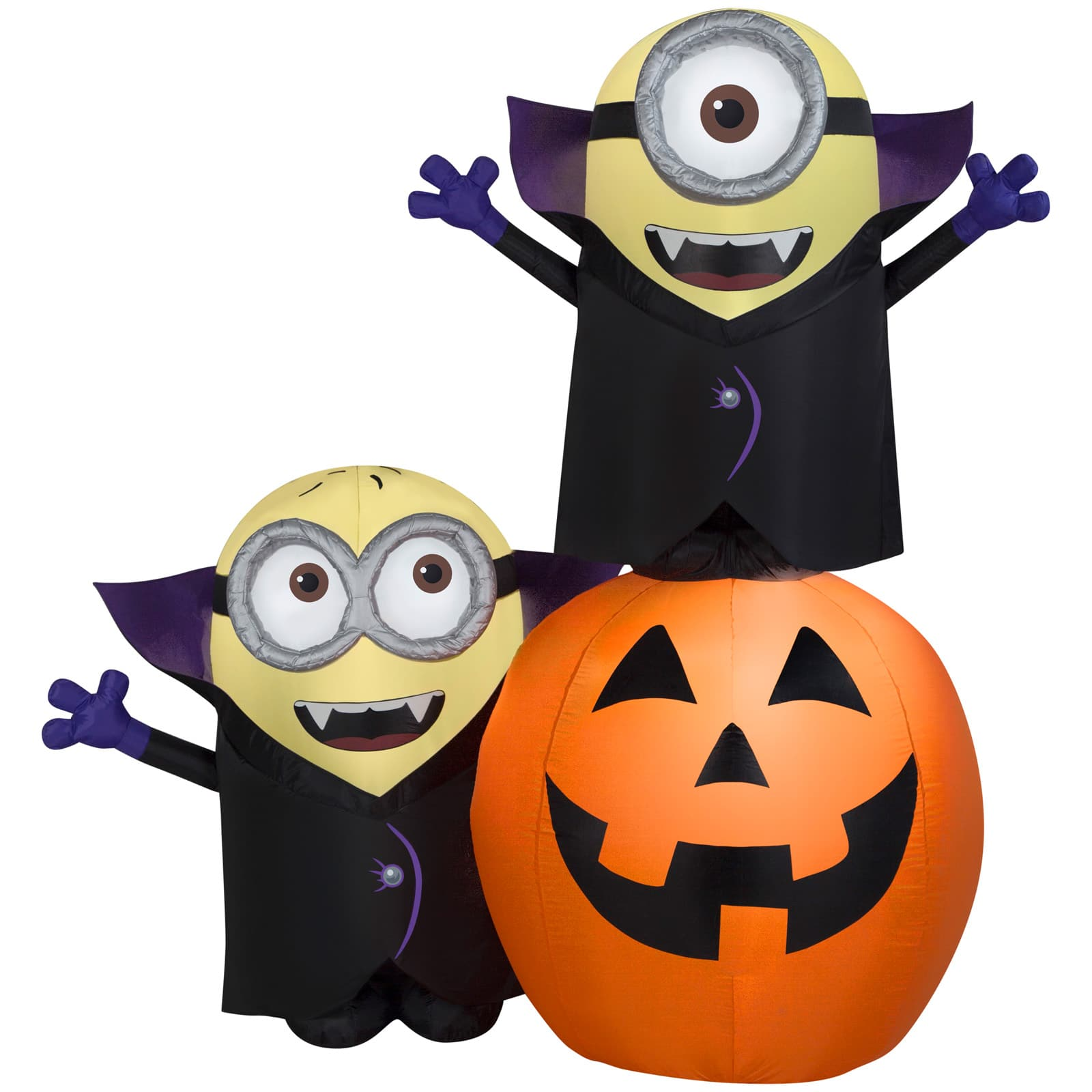 Halloween Party PUMPKIN Wall CUTOUTS set of 4 CLEARANCE  BOGO 2 sided teachers
