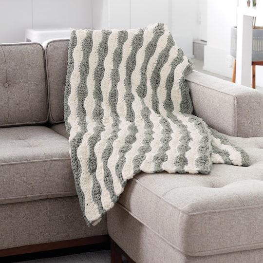 Bernat Blanket Hourglass Crochet Afghan