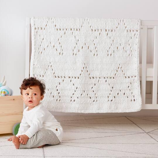 Bernat Baby Blanket Star Of The Show Crochet Blanket