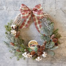 Easy Noel Farms Christmas Wreath, medium