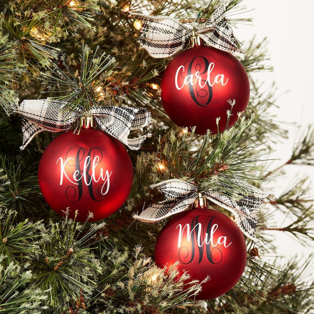 Holiday Cricut® Ornament
