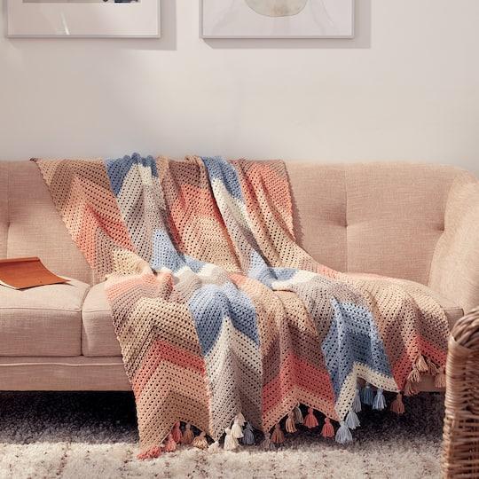 Ergonomic Aluminum Crochet Hook by Loops & Threads®