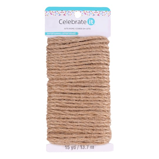 Recollections Craft It Jute Rope