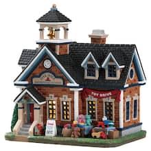 lemax oak hill school - Christmas Village Sets Michaels