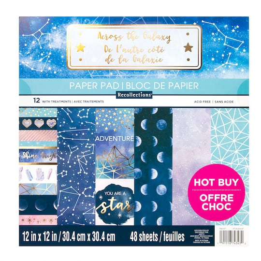 Across Galaxy Paper Pad by Recollections™, 12