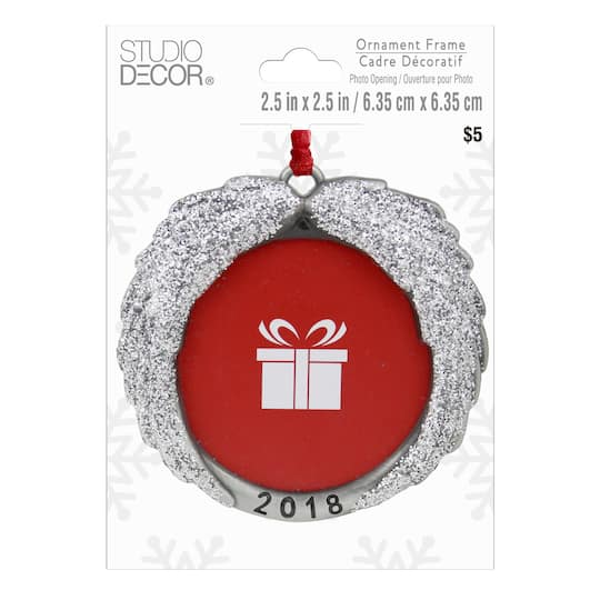 Find the Angel Wings Round Frame Ornament By Studio Décor® at Michaels