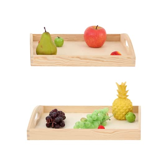 Find The Assorted Wooden Tray By Artminds 174 At Michaels