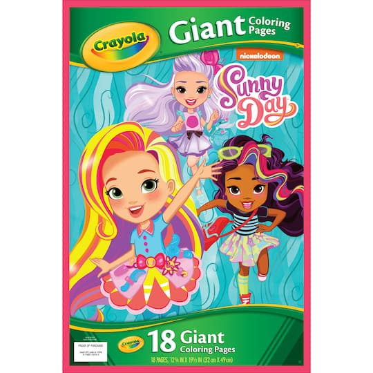Buy The Crayola Giant Coloring Pages Sunny Day At Michaels
