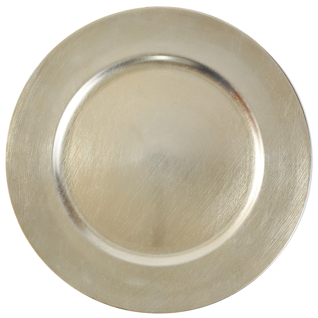 Champagne Charger Plate By Ashland Michaels