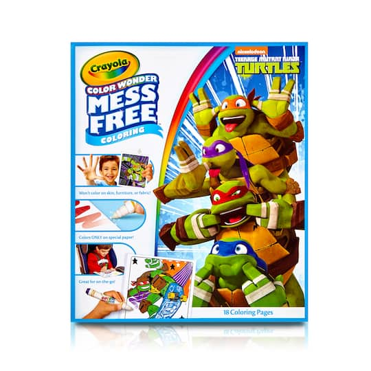 Find the Crayola® Color Wonder Mess-Free™ Coloring Pad, Teenage ...