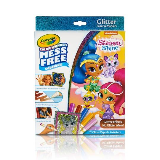 Find the Crayola® Color Wonder Glitter Set, Shimmer & Shine at Michaels