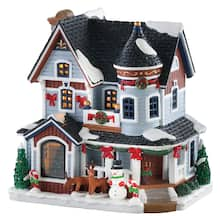 lemax exclusive christmas residence - Christmas Village Sets Michaels