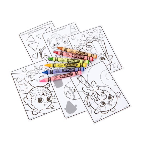 Shopkins SPK Crayon Bag Art Accessories Coloring Crayon Tote Girls Birthday Gift Shopkins Birthday Kids Travel Bag