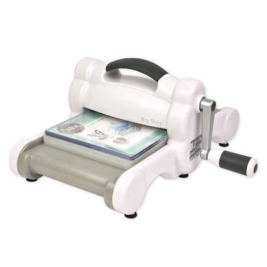 Buy the Sizzix® Gray & White Big Shot Machine at Michaels