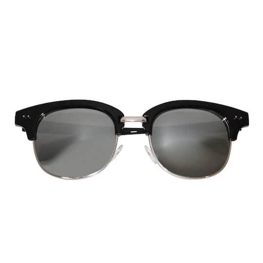dfa4a6aeea8a Buy the Black   Gold Browline Sunglasses By Bead Landing™ at Michaels