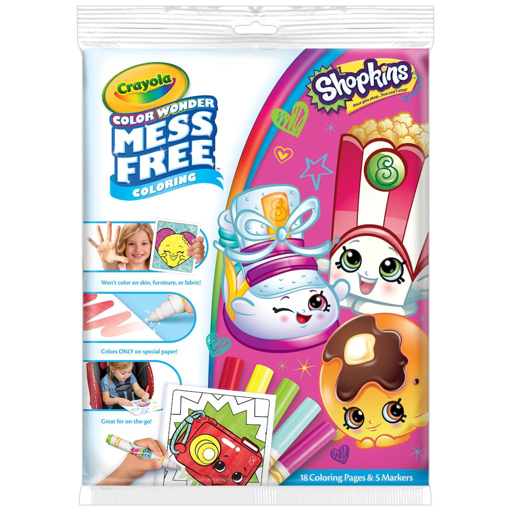 Shop for the Crayola® Color Wonder Mess-Free™ Coloring Pad & Markers ...