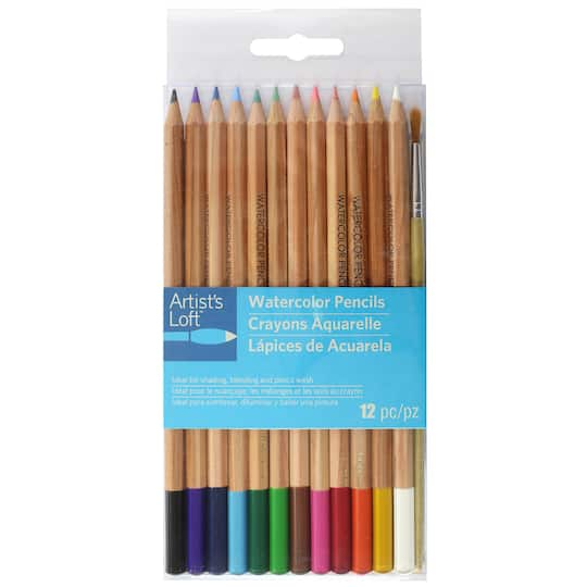 Find the Watercolor Pencil Set by Artist's Loft™ at Michaels