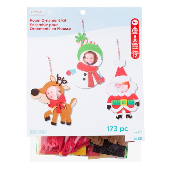 Shop for the Foam Frame Ornament Kit By Creatology® at Michaels