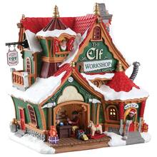 lemax the elf workshop - Christmas Village Sets Michaels