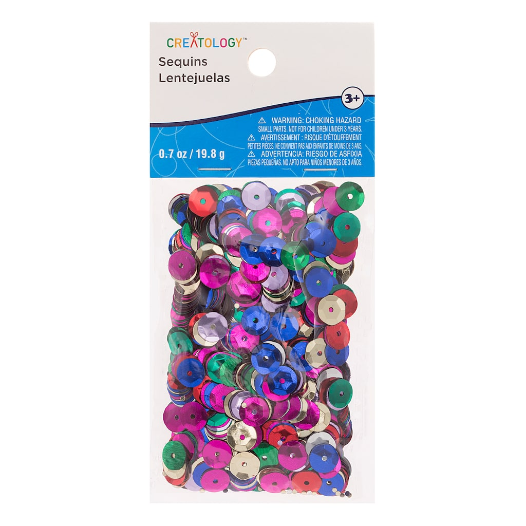 Mixed Bright Party Sequins By Creatology™
