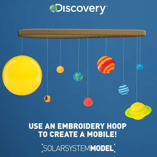 Discovery™ 3D Glowing Solar System Kit