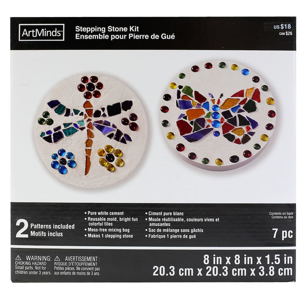 Round Stepping Stone Kit by ArtMinds™