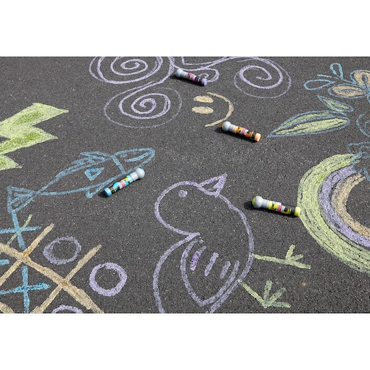 Shop For The Crayola 174 Washable Neon Sidewalk Paint Markers