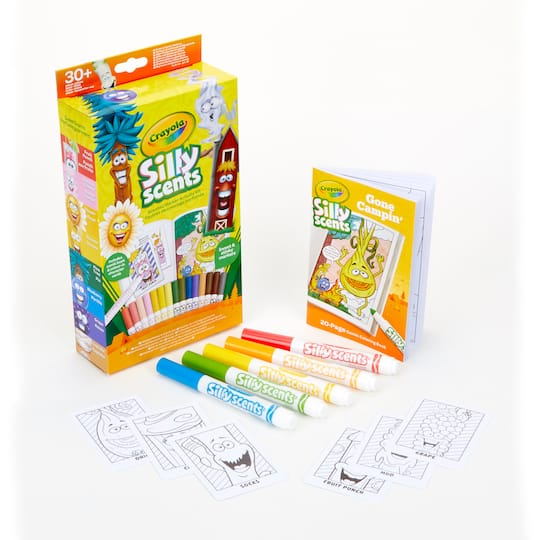 Buy the Crayola® Silly Scents™ Marker Activity Kit, Gone Campin\' at ...