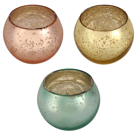 mercury glass votive holders pottery barn assorted mercury glass votive holder by ashland shop for the at