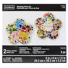 3121ed5ace6d flower stepping stone kit by artminds™