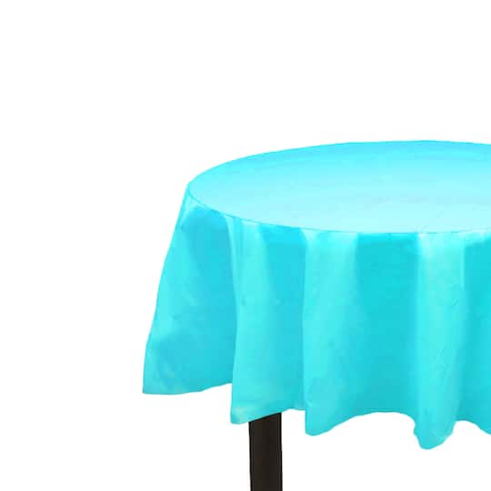 Teal Round Table Cover By Celebrate It