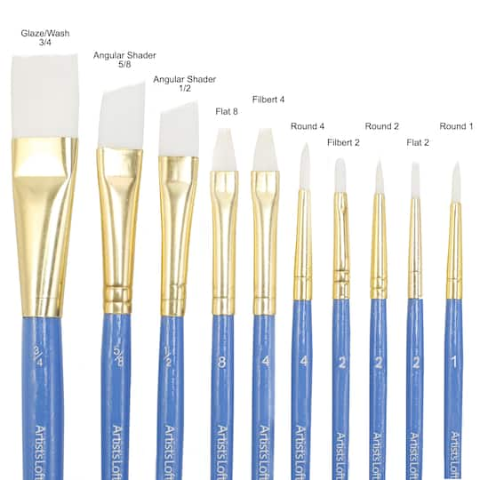 Purchase The White Synthetic Brushes Fundamentals By