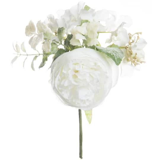 d285dd398 Buy the Cream Peony   Hydrangea Mix Pick By Ashland® at Michaels