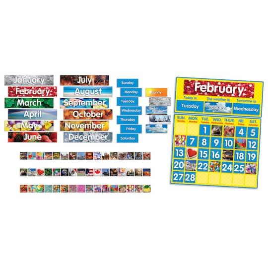 Scholastic® Teaching Resources Photo Calendar Bulletin Board