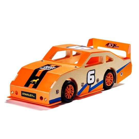 Buy The Stanley® Jr. Race Car Wood Building Kit At Michaels