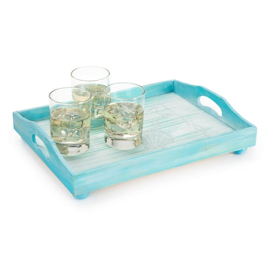 Find The Darice 174 Unfinished Wooden Tray Set At Michaels