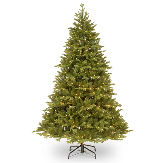 7.5Ft Pre-Lit Feel Real� Rosemont Fir Hinged Artificial Christmas Tree, Clear Lights By National Tree Company | Michaels�