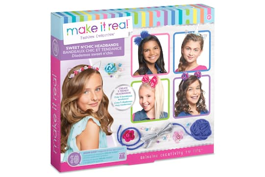 Find the Make It Real™ Fashion Collection™ Sweet N  Chic Headbands ... 57df30bdeb9