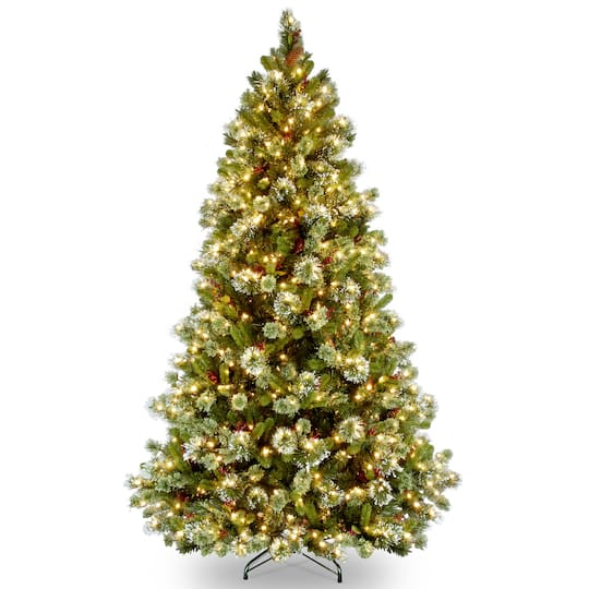 Artificial Christmas Tree Branches.6 5ft Pre Lit Wintry Pine Artificial Christmas Tree Clear Lights