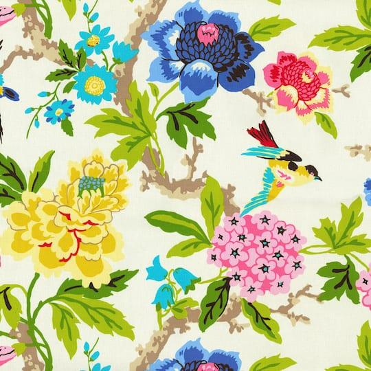 Waverly Candid Moment Gardenia Home Decor Fabric