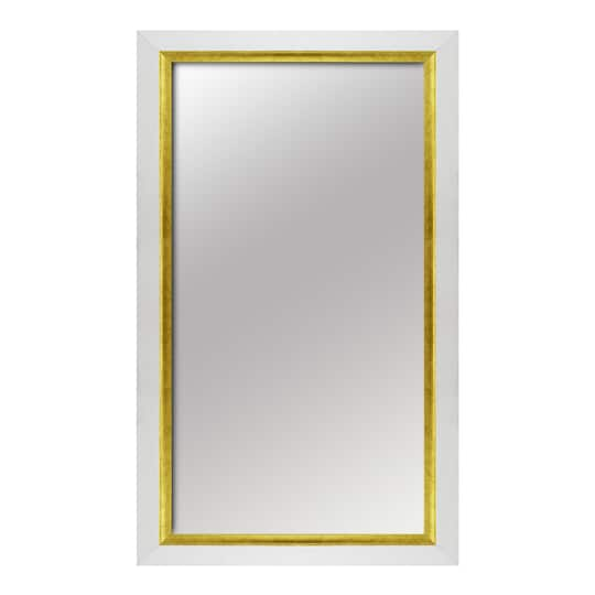 Buy The White Gold 12 X 20 Mirror By Ashlandat Michaels