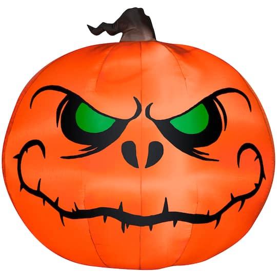 5ft  Airblown® Inflatable Halloween Outdoor Reaper Pumpkin