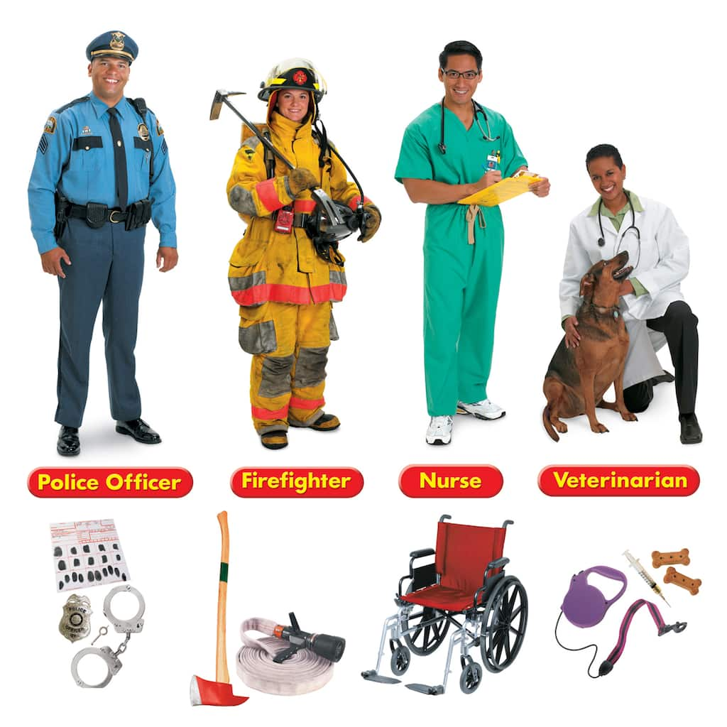 Trend Enterprises® Community Helpers Bulletin Board Set