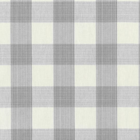 Find The Williamsburg Smoke Stratford Check Home Decor Fabric At Michaels