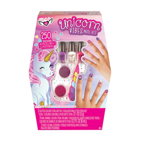 ... Nail Design Kit. img. img img img - Shop For The Fashion Angels® Unicorn Vibes™ Nail Design Kit At Michaels