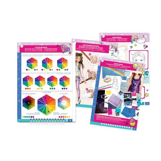 Shop For The Make It Real Fashion Design Sketchbook Set Digital Dream At Michaels