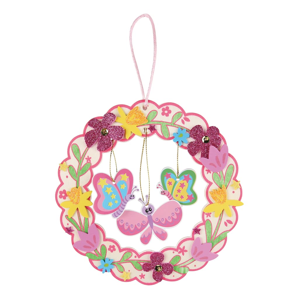 Find The Create Your Own Wreath Wood Ornament Kit By